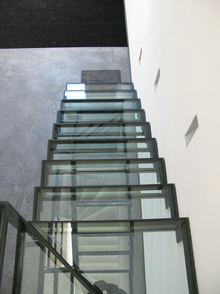 Produits escalier garde corps verre - Escalier verre et metal ...