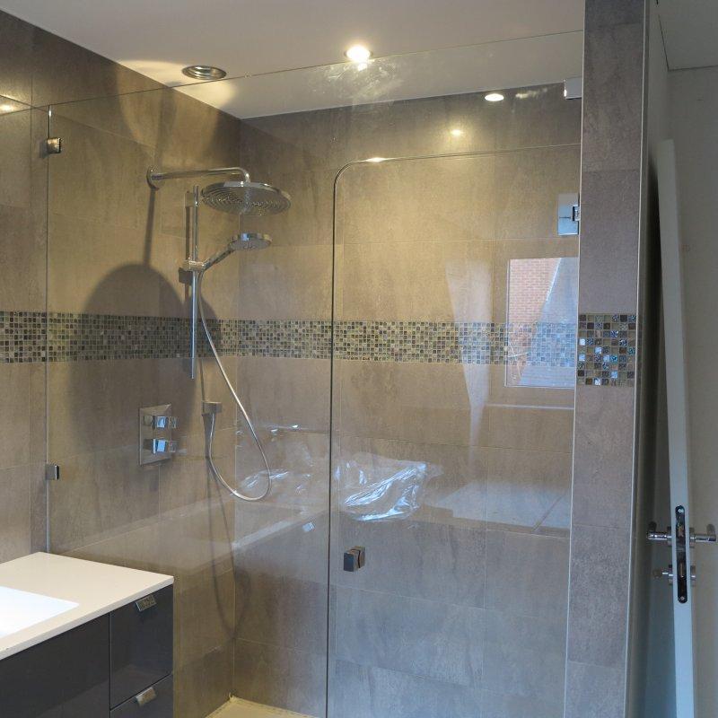 Produits porte et paroi de douche for Porte de douche fixe